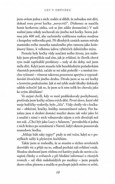 Náhled Lev v obýváku: Jak si nás domácí kočky..