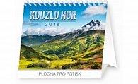 Kalendář stolní 2016 - Kouzlo hor Praktik,  16,5 x 13 cm