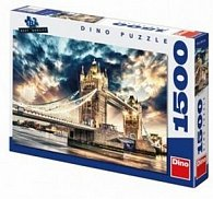 Puzzle Bouře nad Tower Bridge