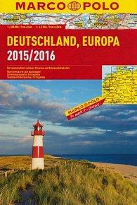Německo, Evropa/atlas-spirála 15/16  1:300T MD
