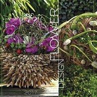 Flower design 2017 - nástěnný kalendář