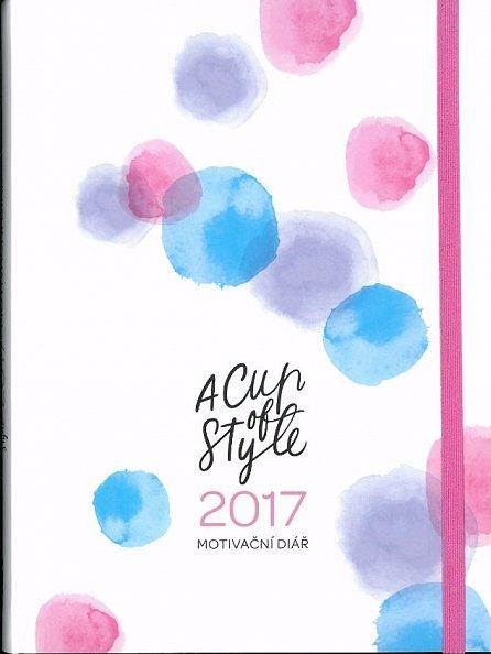 Náhled A Cup of Style - Motivační diář 2017
