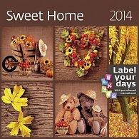 Kalendář 2014 - Sweet Home - nástěnný