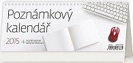 Kalendář stolní 2015 - Poznámkový kalendář