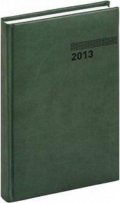 Diář 2013 - Tucson-Vivella - Denní B6, tmavě zelená, 11 x 17 cm