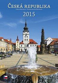Kalendář nástěnný 2015 - Česká republika