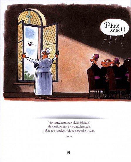 Náhled Bratr František - Kreslené vtipy Gerharda Mestera