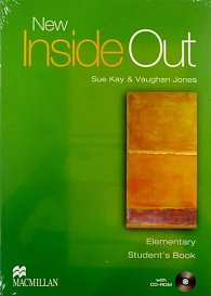 New Inside Out Student Book: Elementary - With CD Rom - CEF A1 / A2
