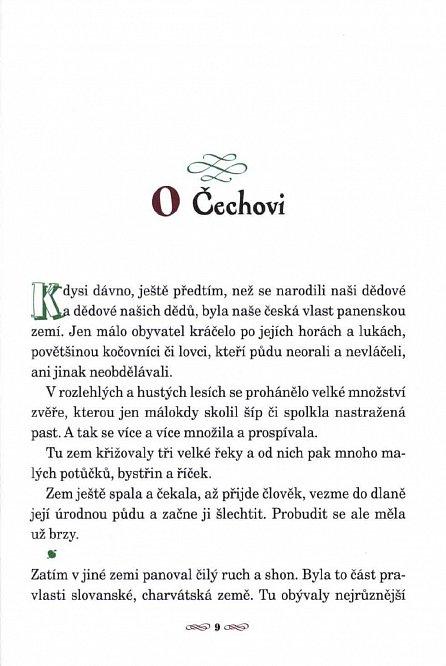 Náhled Staré pověsti české pro malé čtenáře