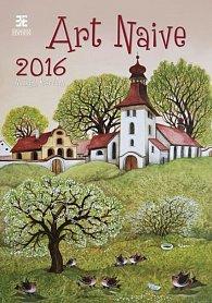 Kalendář nástěnný 2016 - Art Naive/Exklusive