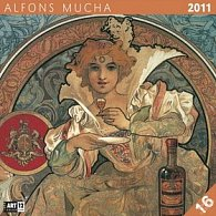 Kalendář 2011 - Alfons Mucha (30x60) nástěnný poznámkový