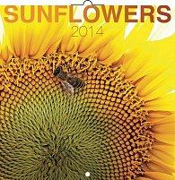Kalendář 2014 - Slunečnice - nástěnný poznámkový (ČES, SLO, MAĎ, POL, RUS, ANG)
