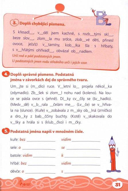 Náhled Domácí procvičování - Čeština 4. ročník