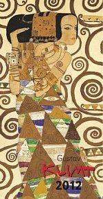 Kalendář nástěnný 2012 - Gustav Klimt 33 x 64 cm