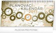 Plánovací kalendár - stolní kalendár 2017