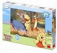 Medvídek Pú na výpravě - puzzle 24 dílků