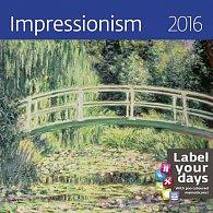 Kalendář nástěnný 2016 - Impressionism 300x300