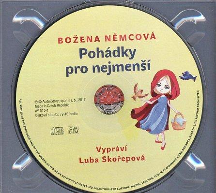 Náhled Pohádky pro nejmenší  - CD