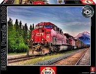 Puzzle Vlak Canadian Pacific 1500 dílků