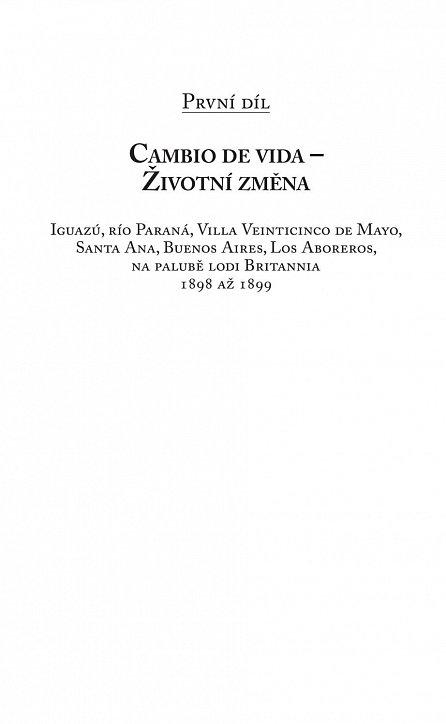 Náhled Argentinská sága 3: Píseň vodopádu