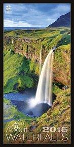 Kalendář nástěnný 2015 - All About Waterfalls