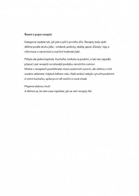 Náhled Jíme zdravě s Fitrecepty II. - 120 snadných a netradičních receptů pro každý den