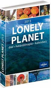 Diář 2013 - Lonely Planet, 10,5 x 15,8 cm