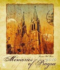 Memories of Prague 2010 - nástěnný kalendář