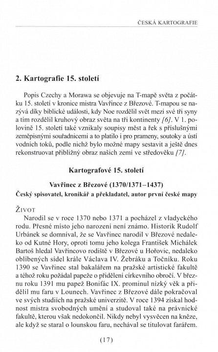 Náhled Česká kartografie