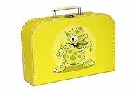 Kufřík Příšerka žlutý 30 cm