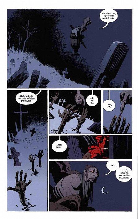 Náhled Hellboy 3 - Spoutaná rakev a další příběhy