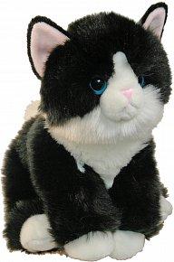 Kočička černobílá