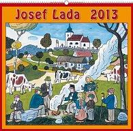 Kalendář 2013 nástěnný - Josef Lada U ohníčku, 48 x 46 cm