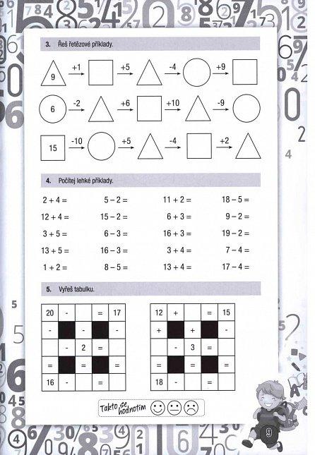 Náhled Hravé úkoly z matematiky pro děti ve věku 7-8 let