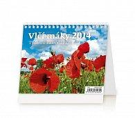 Kalendář 2014 - Vlčí máky - stolní