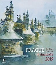 Kalendář nástěnný 2015 - Prague in Aquarelle