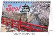 Svet - stolový kalendár 2015