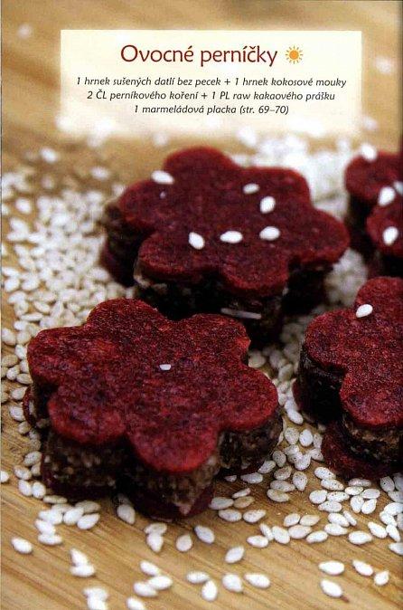 Náhled Zdravé cukroví - Raw recepty nejen na vánoční stůl a silvestrovskou party