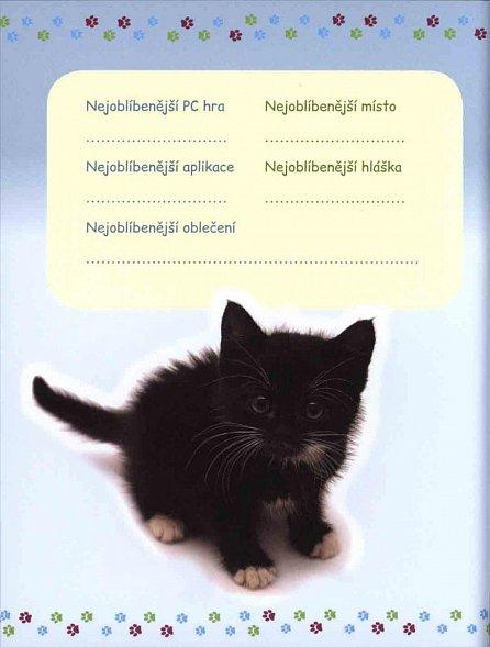 Náhled Zápisník pro správné holky - Koťata
