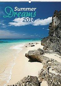 Kalendář 2014 - Summer Dreams - nástěnný s prodlouženými zády