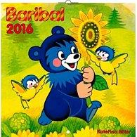 Kalendář nástěnný 2016 - Baribal, poznámkový  30 x 30 cm