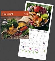 Gourmet - nástěnný kalendář 2013