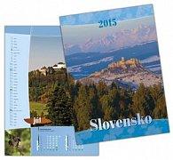 Slovensko 2015 Nástenný kalendár