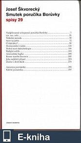 Smutek poručíka Borůvky (spisy - svazek 29) (E-KNIHA)