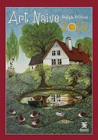 Kalendář nástěnný 2015 - Art Naive