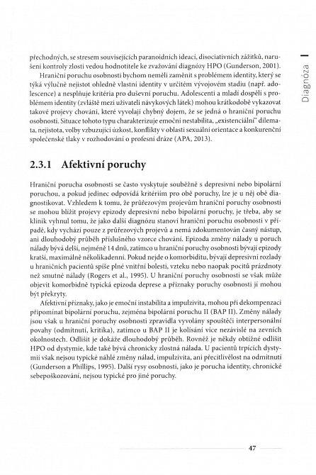 Náhled Hraniční porucha osobnosti a její léčba