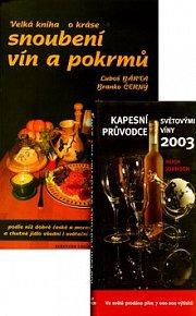 Balíček 2ks Velká kniha o kráse snoubení vín a+ Kapesní průvodce svět. víny 03