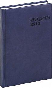 Diář 2013 - Tucson-Vivella - Denní B6, tmavě modrá, 11 x 17 cm