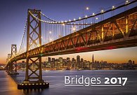 Kalendář nástěnný 2017 - Bridges