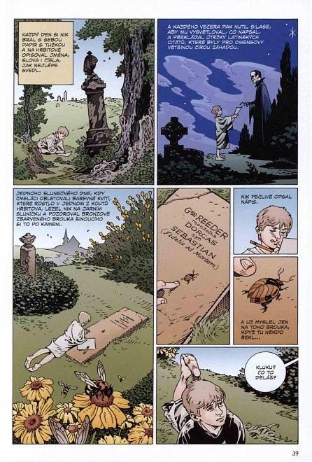 Náhled První kniha hřbitovní